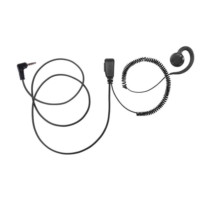 BOMMEOW BSE15-Y1 Swivel Earpiece for Vertex FT-60E FT-250R