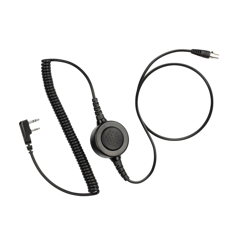 Maxtop Cable-AHDH0032-K2B 6 Pin Noise Isolation Headphone PTT Cable for Baofeng UV-5X3 UV-5R