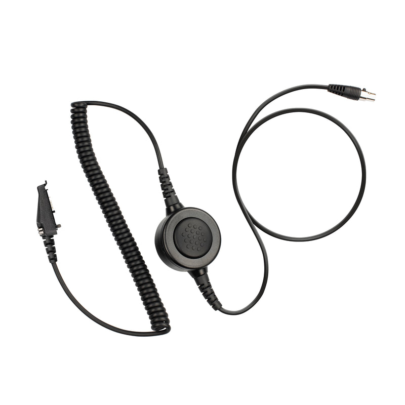 Maxtop Cable-AHDH0032-K3 6 Pin Noise Isolation Headphone PTT Cable for Kenwood NX-3200 NX-5200