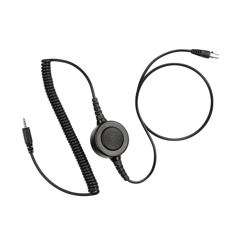 Maxtop Cable-AHDH0032-K4 6 Pin Noise Isolation Headphone PTT Cable for Kenwood PKT-23