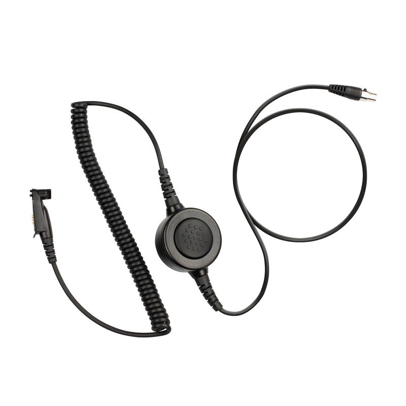 Maxtop Cable-AHDH0032-M3 6 Pin Noise Isolation Headphone PTT Cable for Motorola EX500 GP328Plus