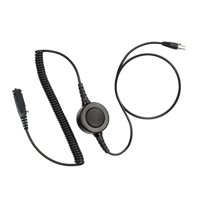 Maxtop Cable-AHDH0032-S2 6 Pin Noise Isolation Headphone PTT Cable for Sepura STP8200 STP9000