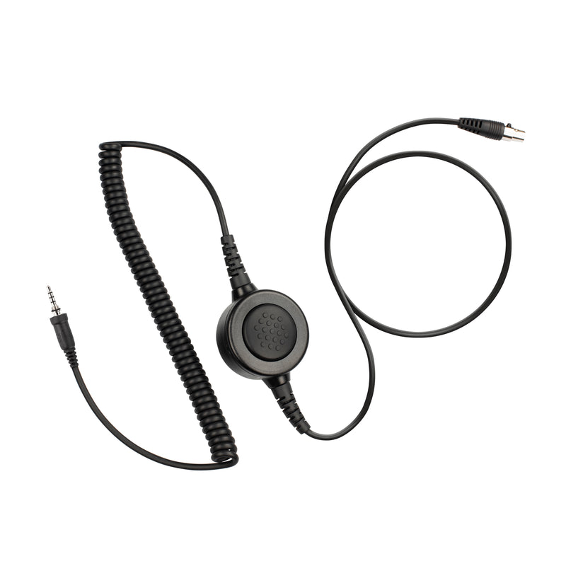Maxtop Cable-AHDH0032-Y2 6 Pin Noise Isolation Headphone PTT Cable for Vertex EVX-S24 VX-270R