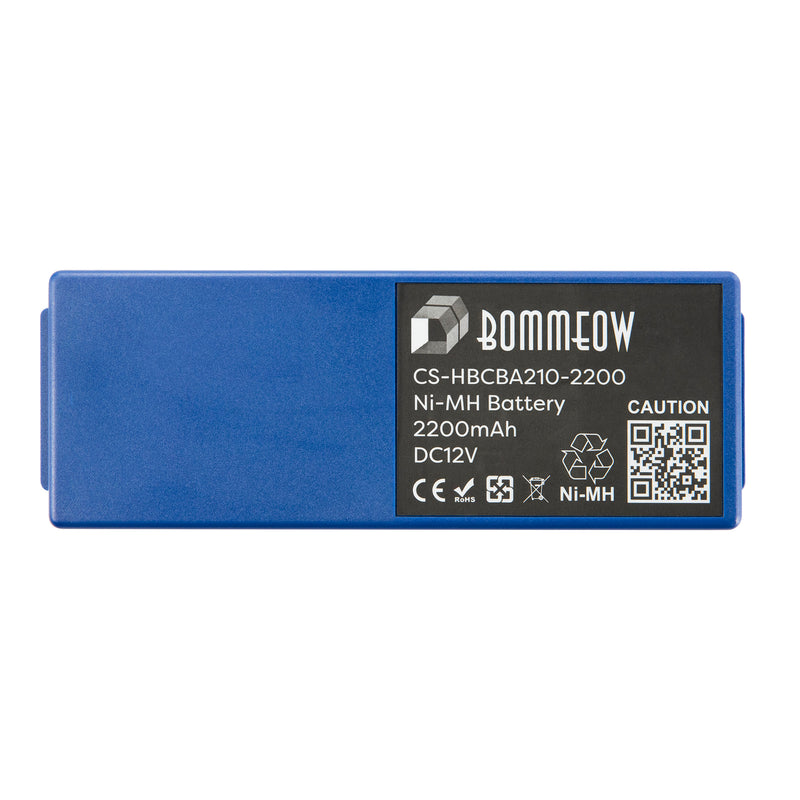 Bommeow CS-HBCBA210-2200 Crane Remote Control Battery for HBC BA14061 HBC Fub06 Eex