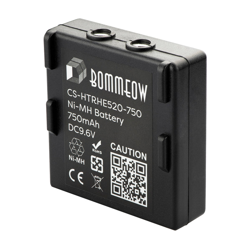 Bommeow CS-HTRHE520-750 Crane Remote Control Battery for HETRONIC 68300510 68300520 HE520