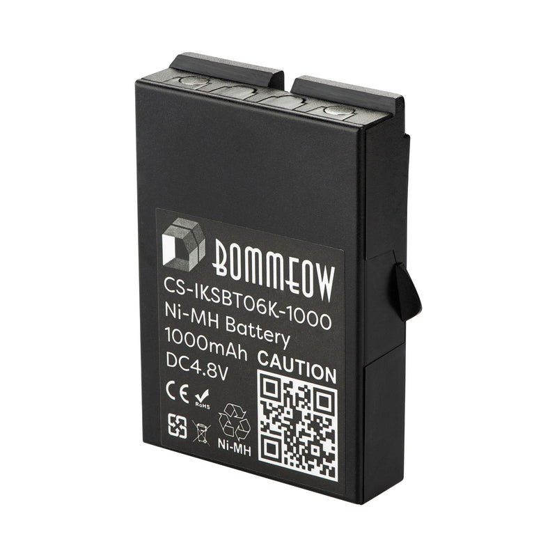 Bommeow CS-IKSBT06K-1000 Crane Remote Control Battery for IKUSI 2303692 BT06K