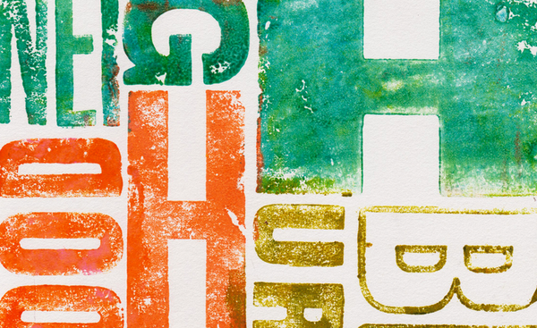 Alan Kitching Typography
