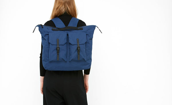 Frank Rip Stock Rucksack by Ally Capellino
