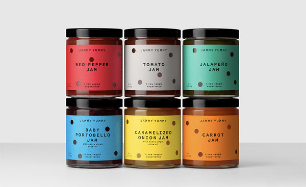 Jammy Yummy Packaging by Hey
