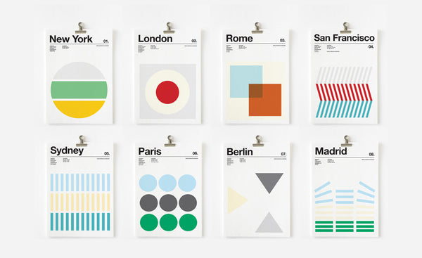 City Prints by Nick Barclay
