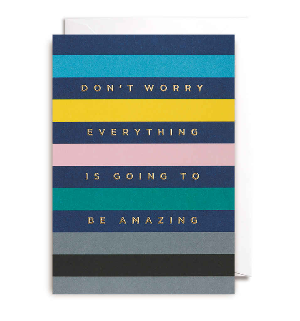 Its Going To Be Amazing Greeting Card - Lagom Design