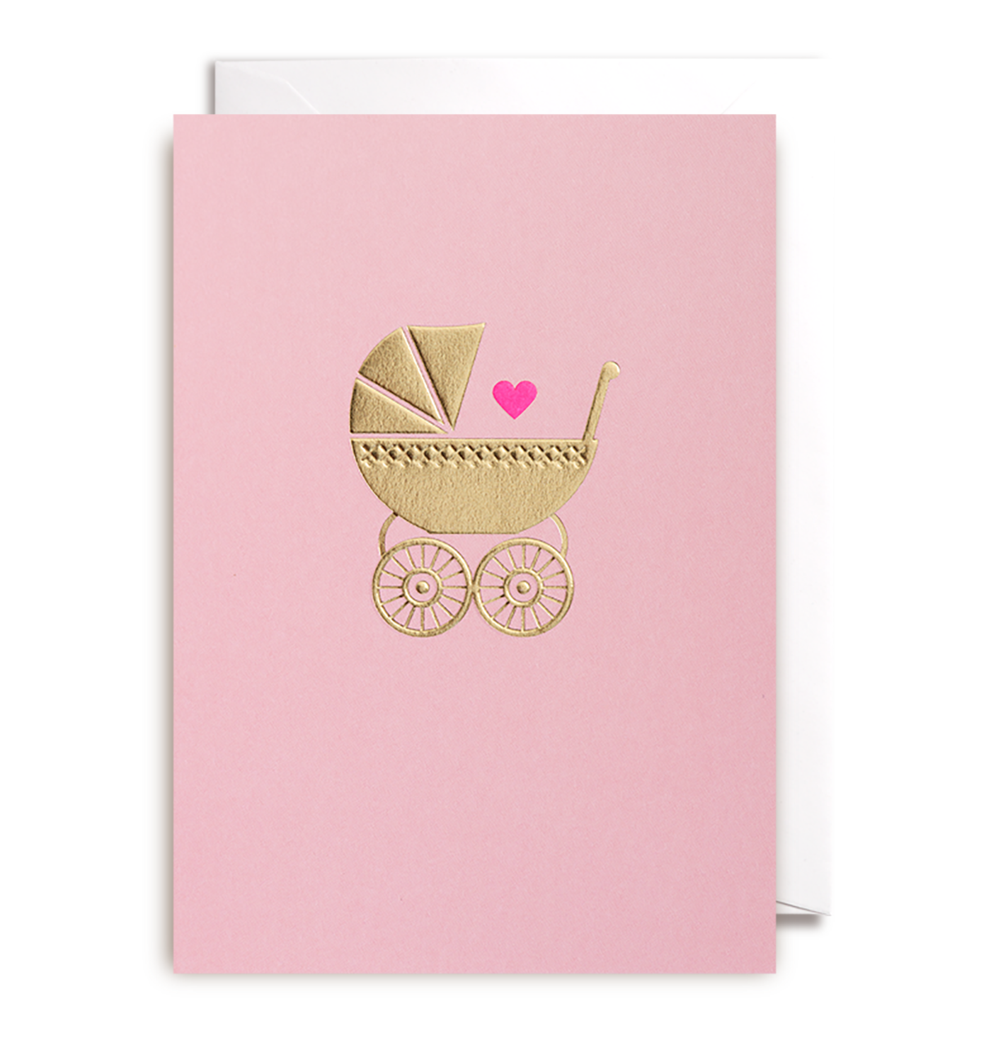 Baby girl greeting card by postco lagom design baby girl greeting card lagom design m4hsunfo