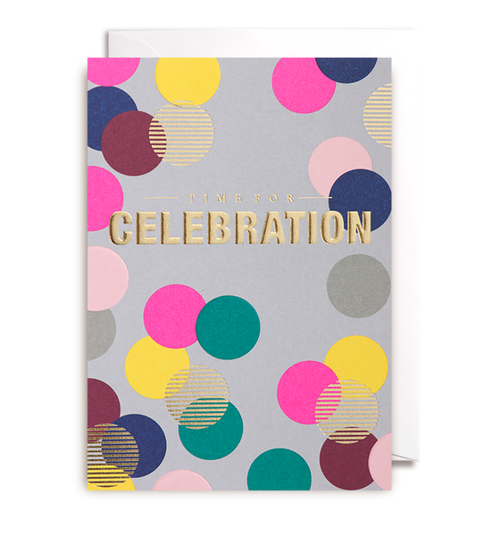 Time For Celebration Greeting Card