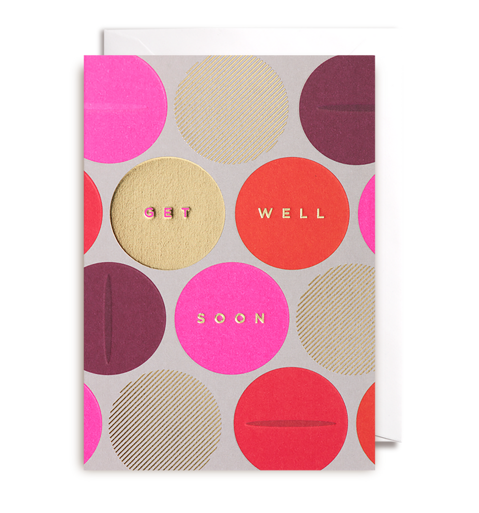 Get Well Soon Greeting Card - Lagom Design