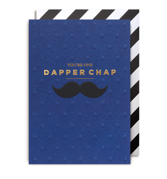 Dapper Chap Greeting Card
