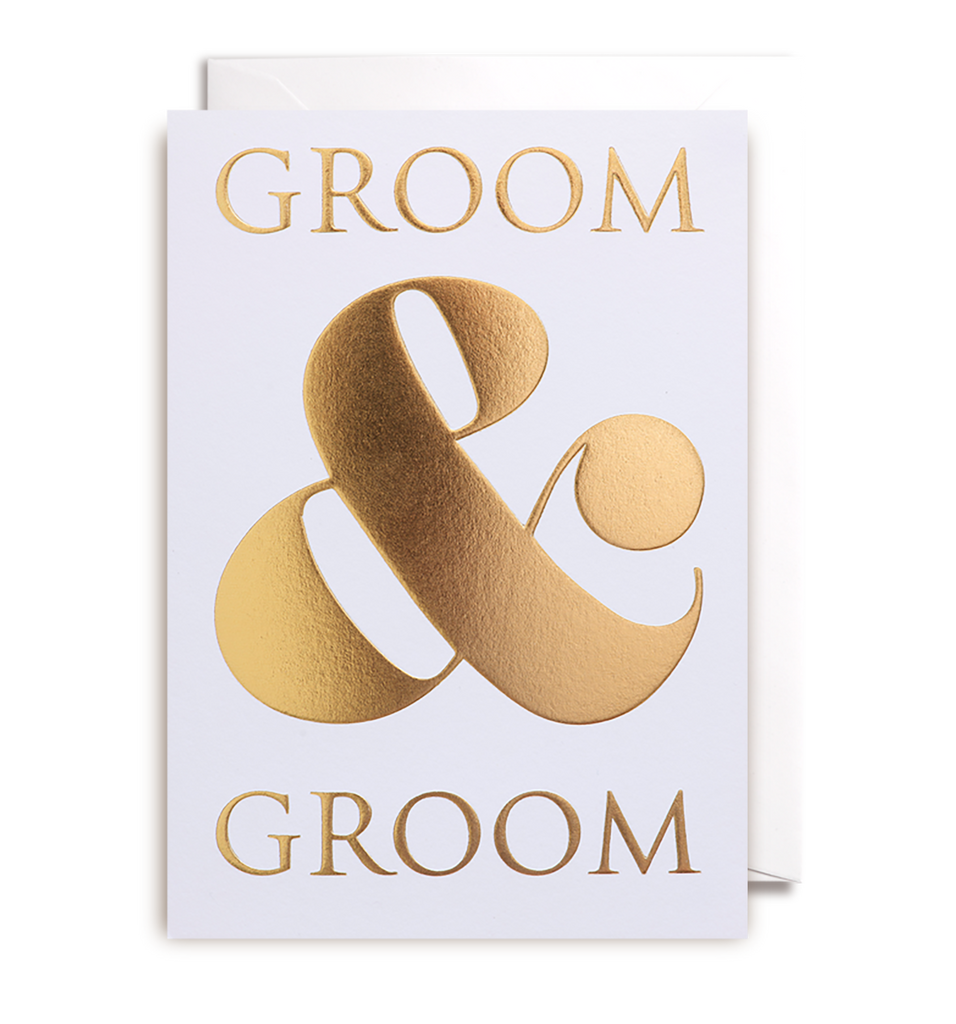Groom & Groom Greeting Card - Lagom Design