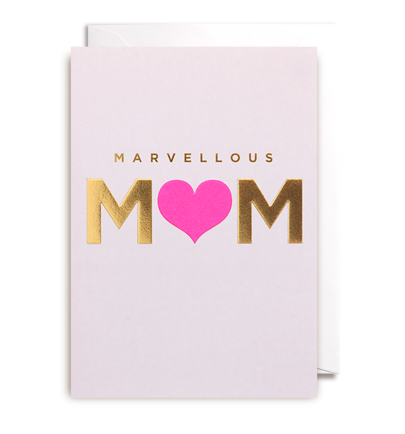 Marvellous Mum Greeting Card - Lagom Design
