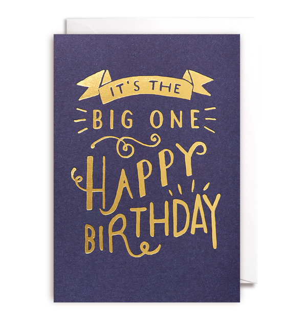 Its The Big One Card - Lagom Design