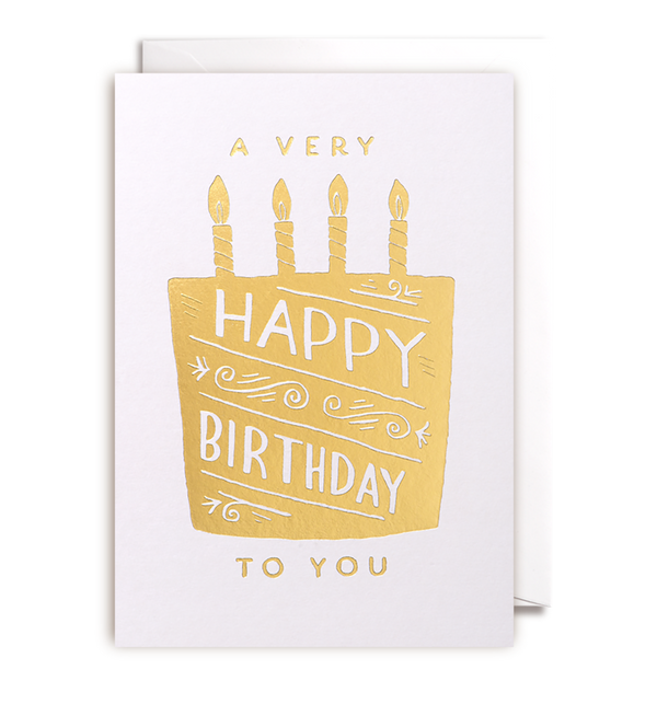 Happy Birthday Card - Lagom Design