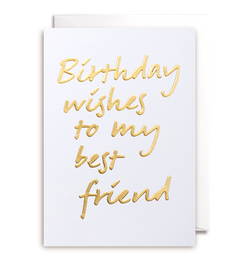 Birthday Wishes To My Best Friend - Lagom Design