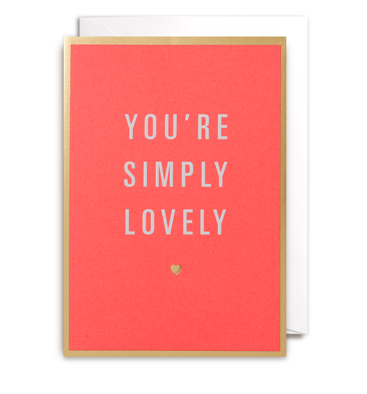 Youre Simply Lovely Greeting Card By Postco Lagom Design