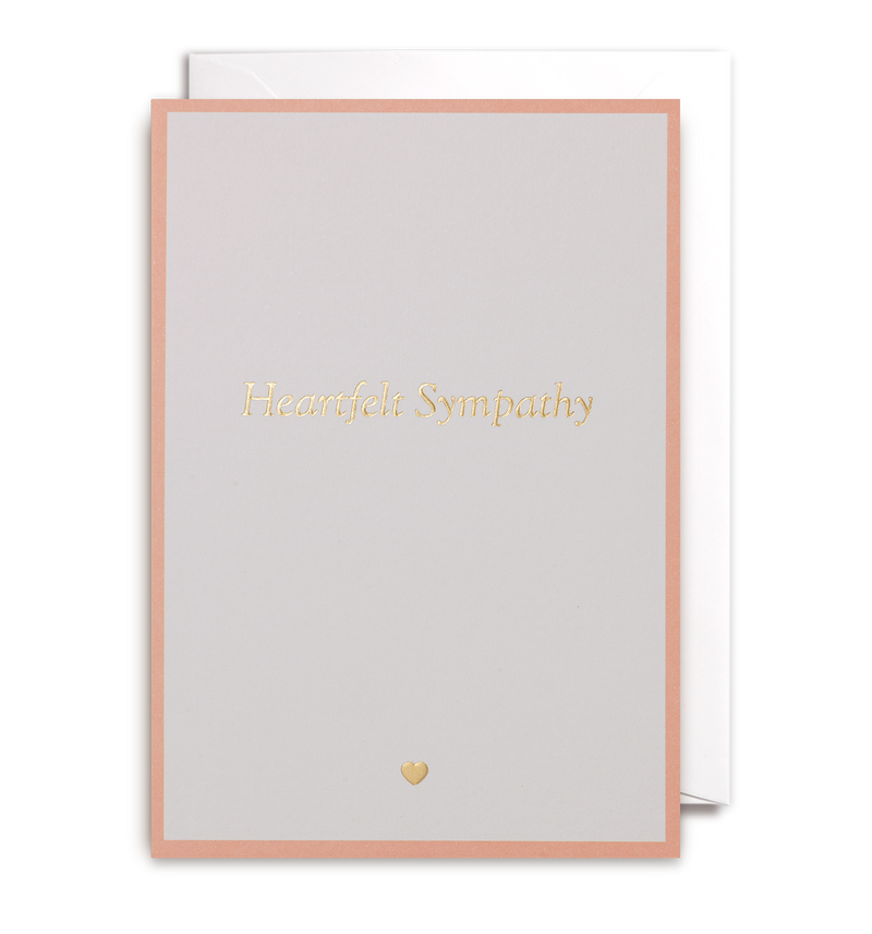 Heartfelt Sympathy Greeting Card - Lagom Design