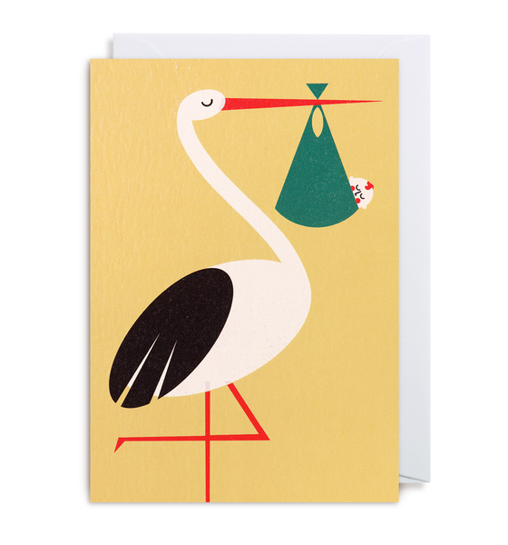New Arrival Greeting Card - Lagom Design