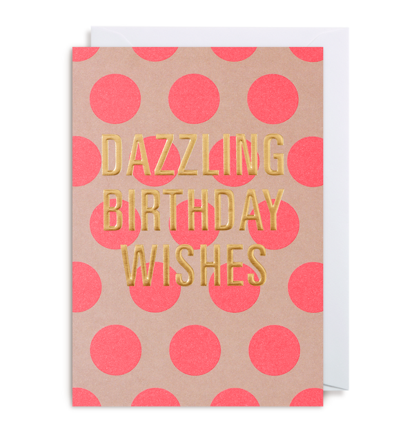 Dazzling Birthday Wishes - Lagom Design