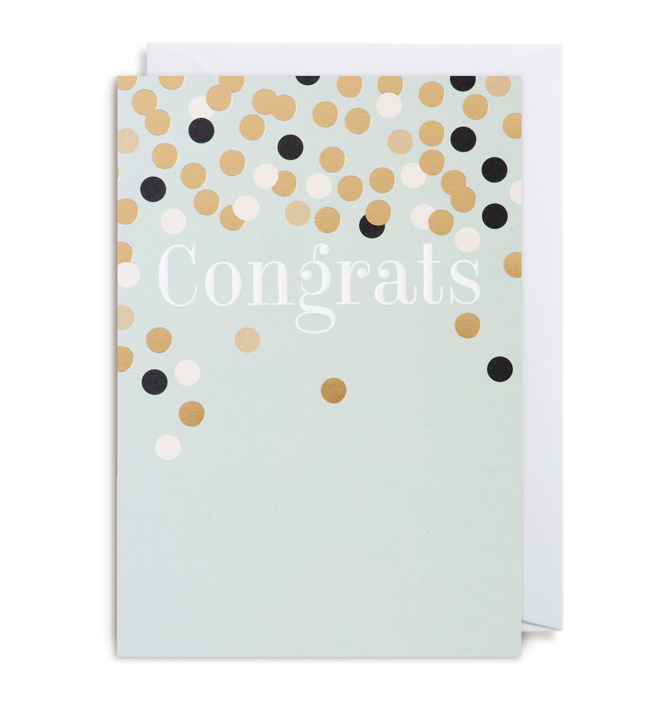 Congrats Greeting Card - Lagom Design