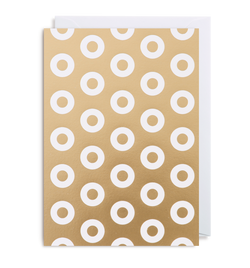 Gold Polo Notecard - Lagom Design