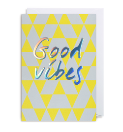 Good Vibes Greeting Card - Lagom Design