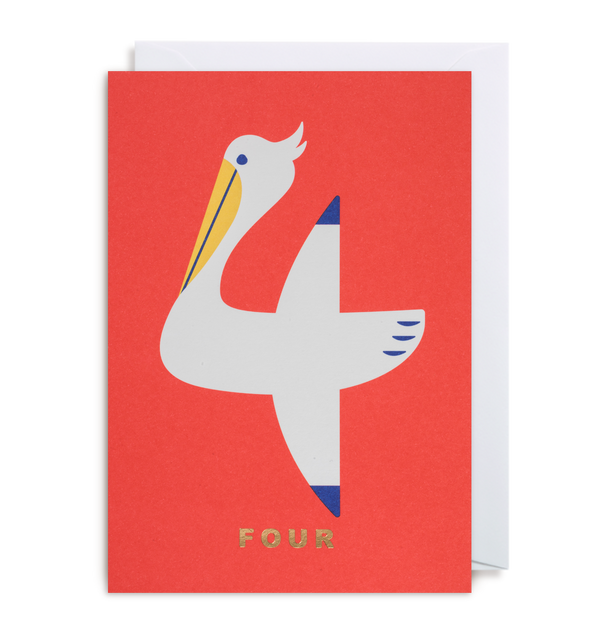 Number Four Pelican - Lagom Design