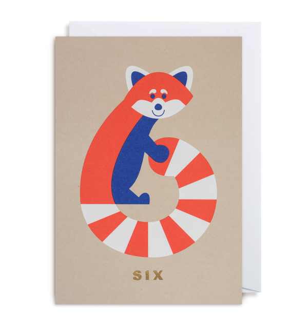 Number Six Raccoon - Lagom Design