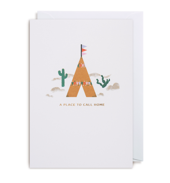 A Place To Call Home Greeting Card - Lagom Design