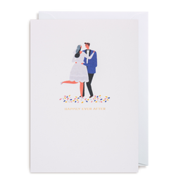 Happily Ever After Greeting Card - Lagom Design