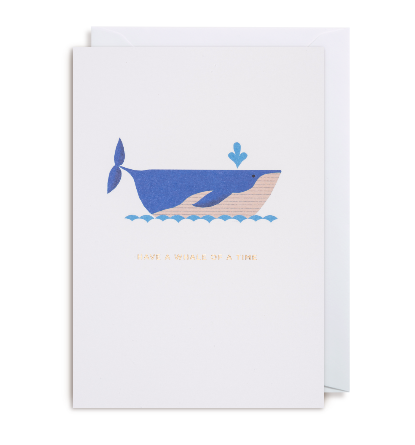 Have a Whale Of A Time Greeting Card - Lagom Design