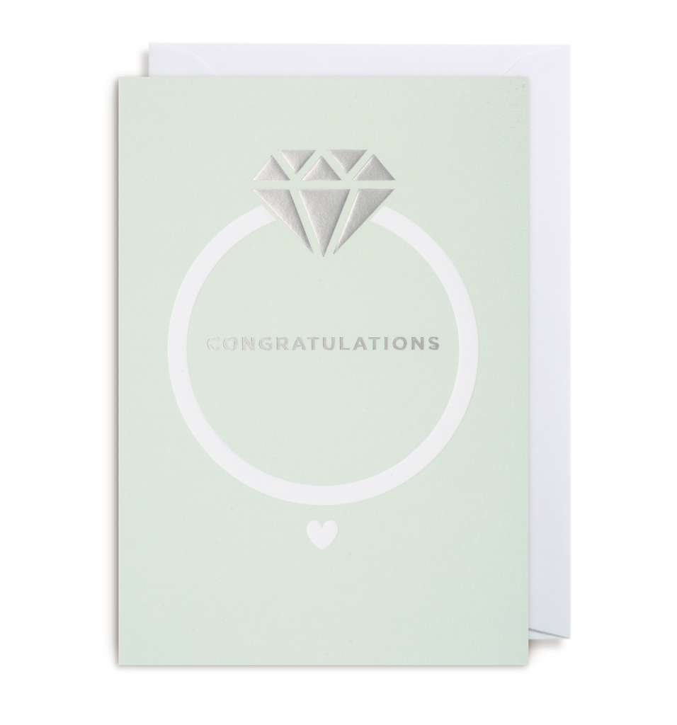 Congratulations Greeting Card - Lagom Design