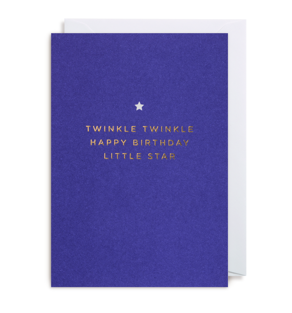 Twinkle Twinkle Greeting Card