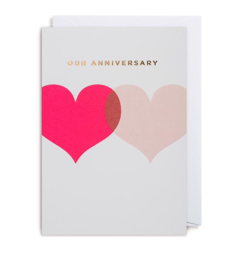 Our Anniversary Greeting Card - Lagom Design