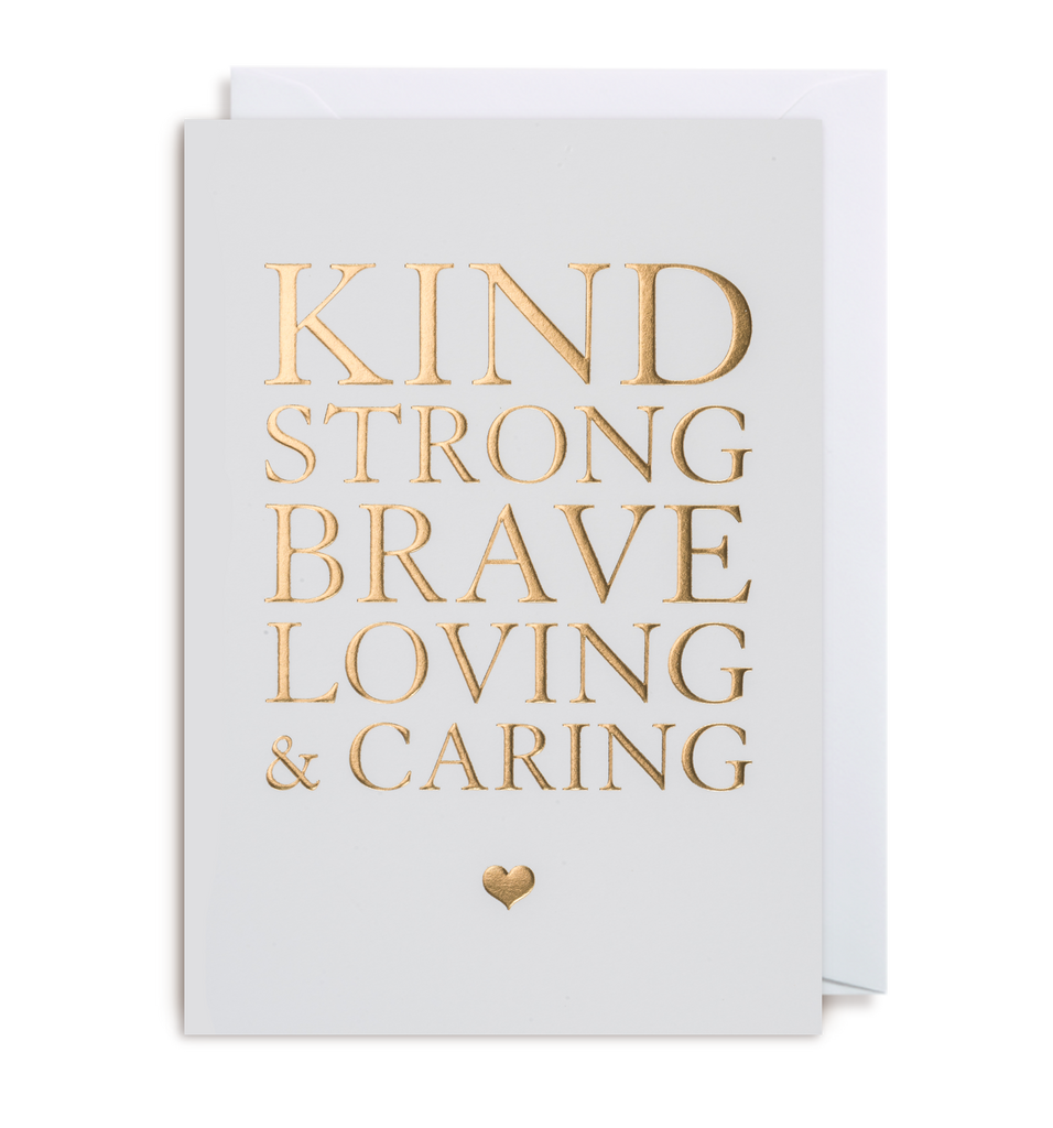 Loving & Caring Greeting Card - Lagom Design