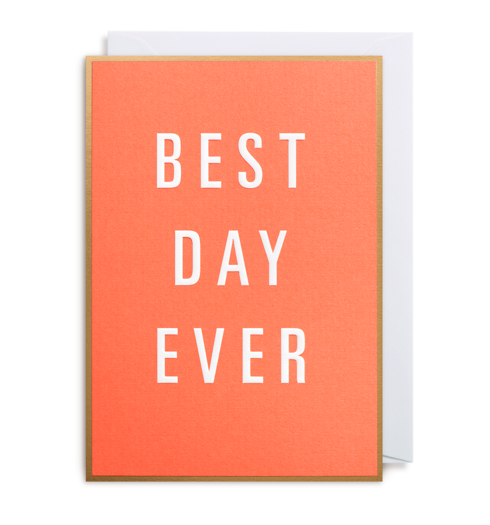 Best Day Ever Greeting Card - Lagom Design