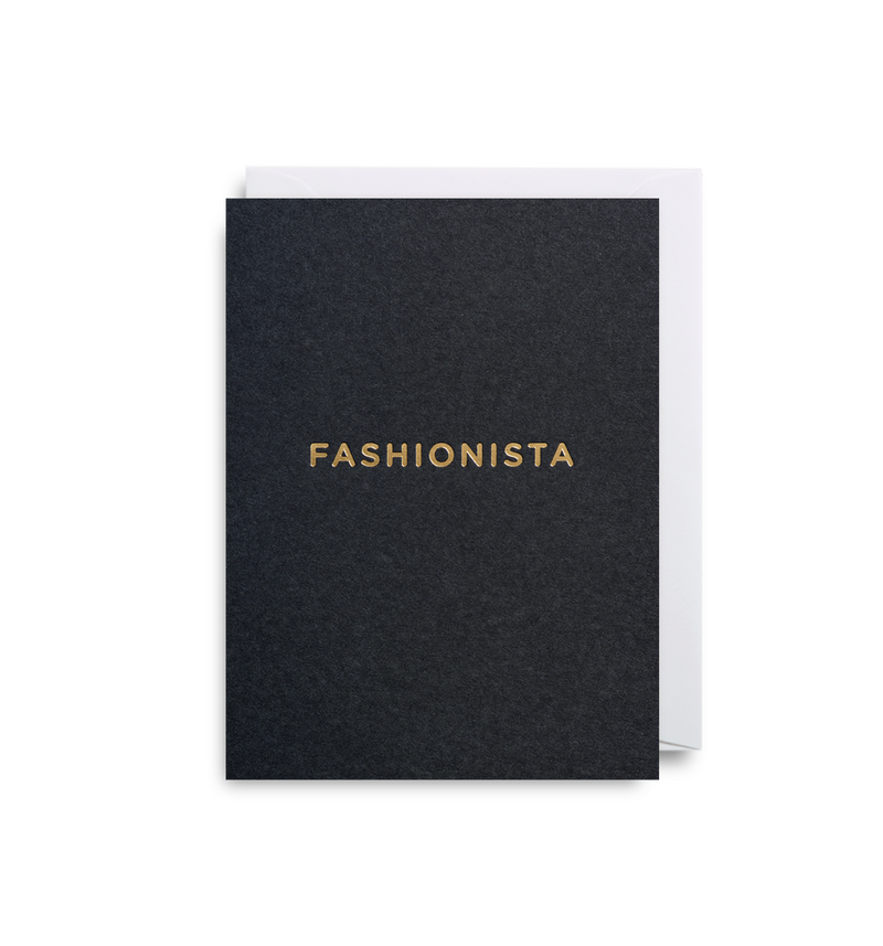Fashionista Mini Card - Lagom Design