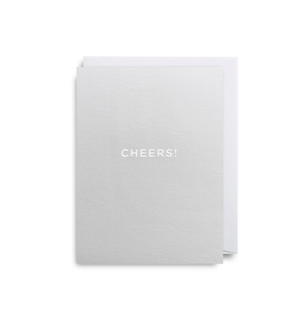 Cheers! Mini Card