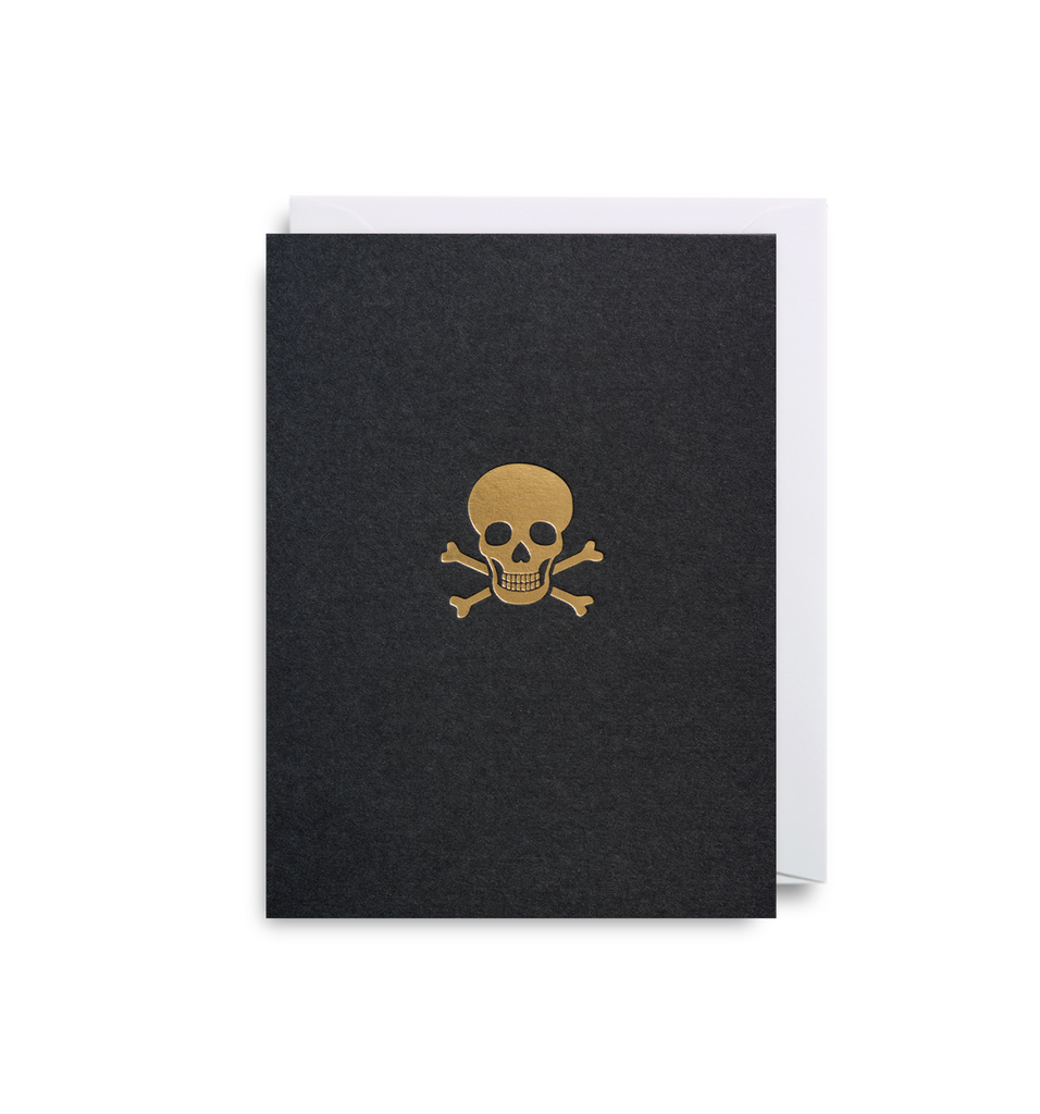 Skull & Crossbones Mini Card