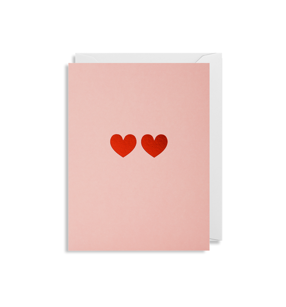 Love Hearts Mini Card