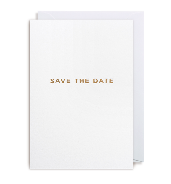 Save The Date Notecard