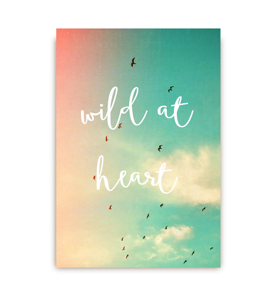 Wild At Heart Postcard