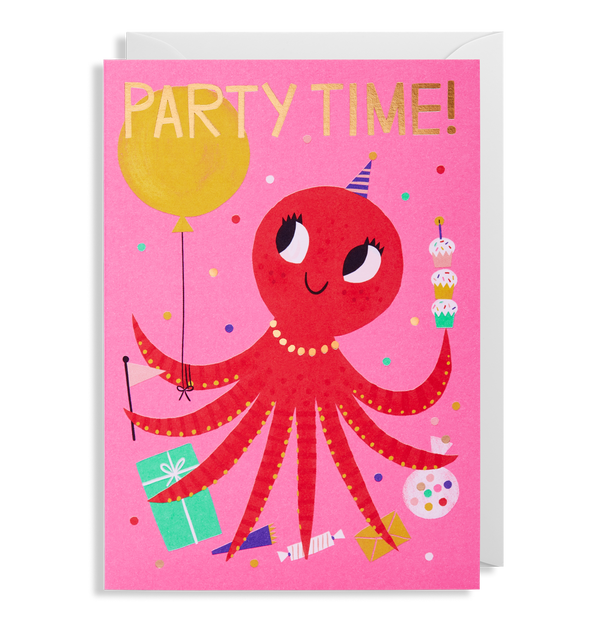 Party Time! Octopus - Lagom Design