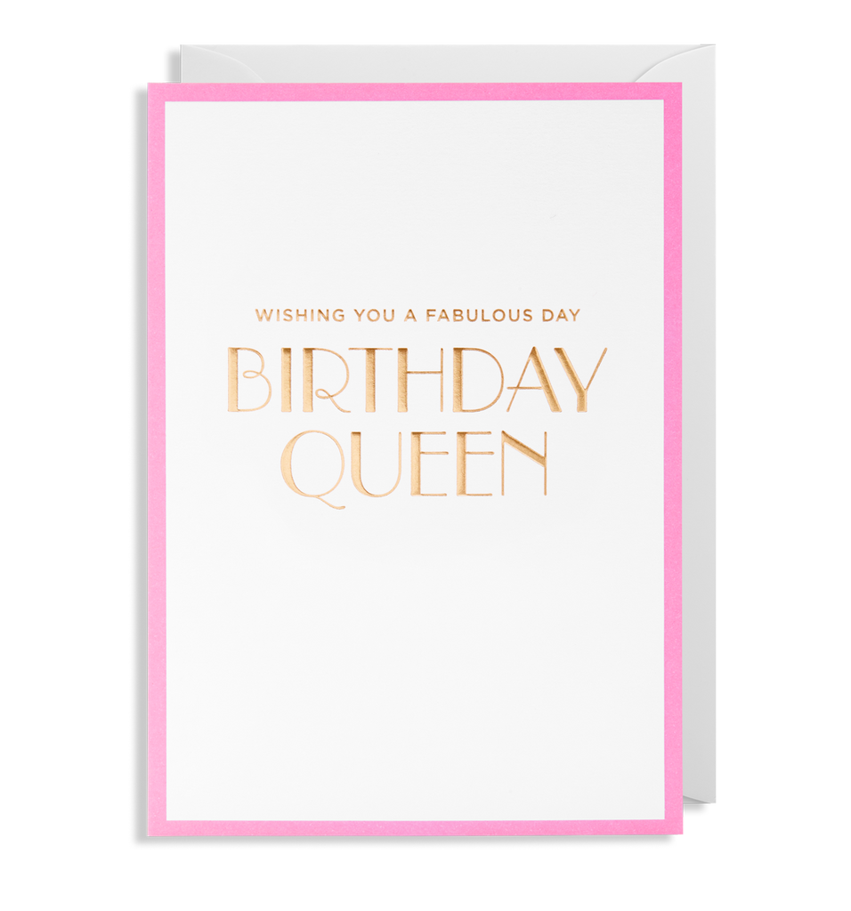 Birthday Queen Greeting Card - Lagom Design