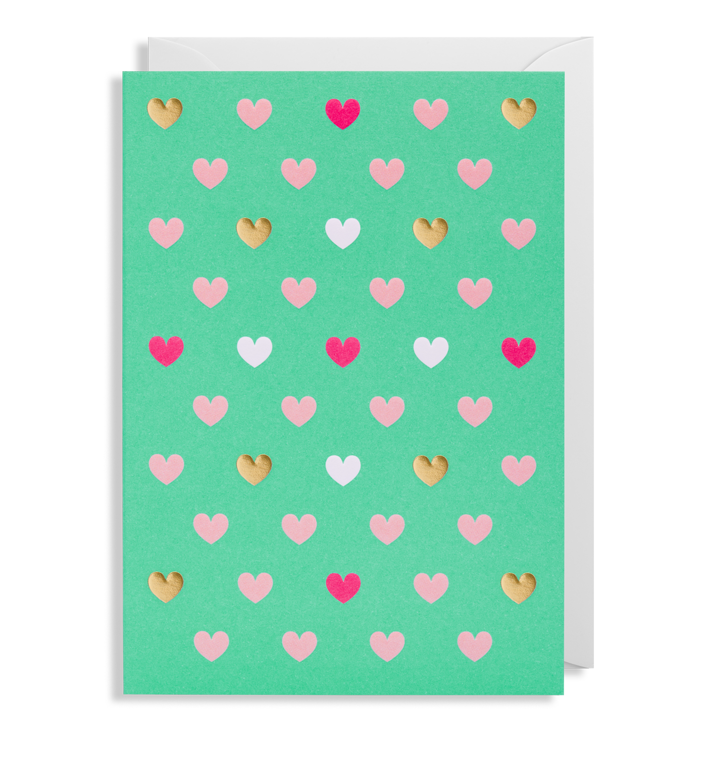 Love Hearts Greeting Card - Lagom Design